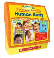 Science Vocabulary Readers Set: Human Body: Level 1: Exciting Nonfiction Books That Build Kids' Vocabularies: Grades 1-2