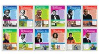 Notable African Americans Bulletin Board Mini Posters
