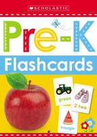scholastic early learners flashcards get ready pre k