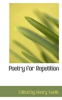 Poetry for Repetition