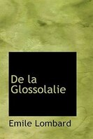 De la Glossolalie