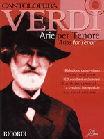 Cantolopera:  Verdi Arias for Tenor Volume 1: Cantolopera Collection