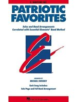 Patriotic Favorites: Eb Baritone Sax