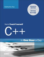 Learn C   in Just One Hour a Day  Completely updated for the C  11 standard, Sams Teach Yourself C   in One Hour a Day presents the language from a practical point of view, helping you learn how to use C  11 to create faster, simpler, and more efficient C   applications