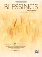Blessings: Piano/vocal/guitar, Sheet