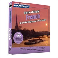 Pimsleur French Quick & Simple Course - Level 1 Lessons 1-8 CD: Learn To Speak And Understand French With Pimsleur Language