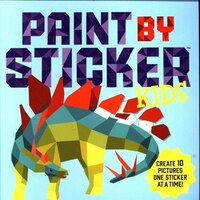 Paint by Sticker Kids: Create 10 Pictures One Sticker at a T
