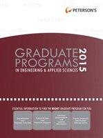 Graduate Programs In Engineering & Applied Sciences 2015