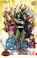 An all-new book featuring Marvel''s Mightiest Women! In a secluded corner of the Battleworld, an island nation is fiercely protected by a team of Avengers the likes of which has only ever been glimpsed before