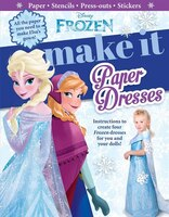 Disney Frozen:  Make It Paper Dresses