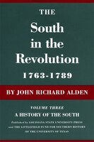 South In The Revolution 1763-1789