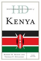 Historical Dictionary of Kenya