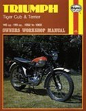 Triumph Tiger Cub and Terrier Owners Workshop Manual: '52-'68