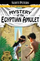Mystery of the Egyptian Amulet: Adventure Books For Kids Age