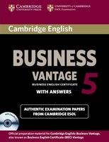 Cambridge English Business 5 Vantage Self-study Pack )
