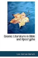 Gnomic Literature in Bible and Apocrypha