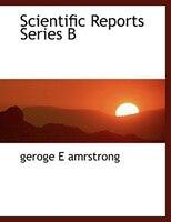 Scientific Reports Series B