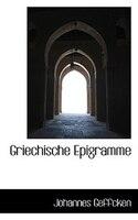 Griechische Epigramme