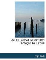 Faculté De Droit De Paris Des Français En Turquie