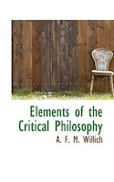 Elements Of The Critical Philosophy