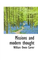 Missions And Modern Thought