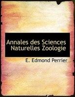 Annales des Sciences Naturelles Zoologie