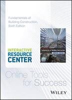 Fundamentals of Building Construction Interactive Resource
