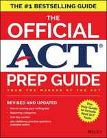 The Official Act Prep Guide 2018 + Bonus Online Content