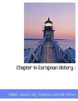 Chapter In European History