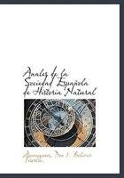 Anales de la Sociedad Española de Historia Natural
