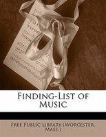 Finding-list Of Music