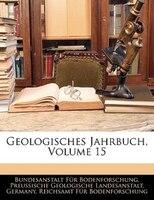 Geologisches Jahrbuch, Band XV