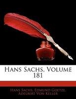 Hans Sachs, Volume 181