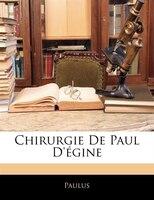Chirurgie De Paul D'égine