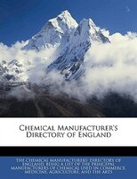 Chemical Manufacturer's Directory of England