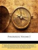 Philologus, Volume 3