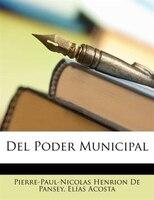 Del Poder Municipal