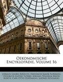 Oekonomische Encyklop Die