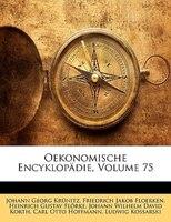 Oekonomische Encyklopädie, Fuenf und siebzigster Theil