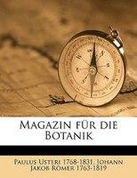 Magazin Fur Die Botanik
