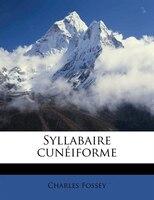 Syllabaire Cunéiforme
