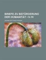 Briefe Zu Beförderung Der Humanität (9-10)