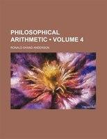 Philosophical arithmetic (Volume 4)