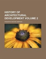 History of architectural development Volume 2