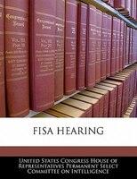 Fisa Hearing