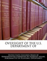 Oversight Of The U.s. Department Of