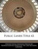 Public Lands Title 43