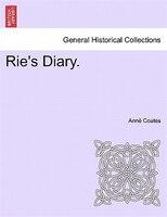 Rie's Diary. - Annë Coates