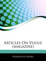 Articles On Vogue (magazine)