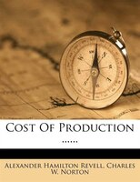 Cost Of Production ......